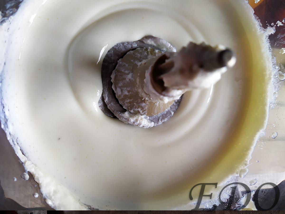 Малиновый пирог с кефирным кремом - готовност номер один