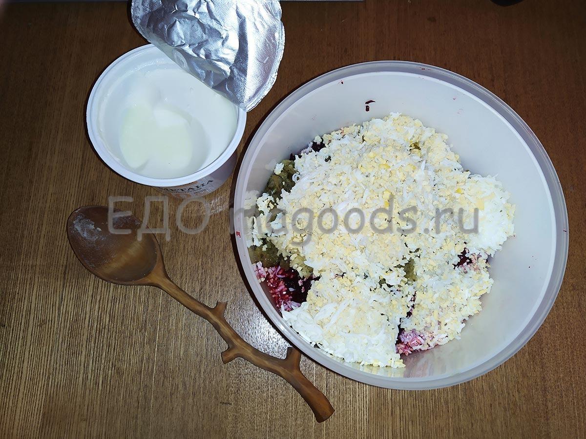 Неожиданно быстрый салат из свёклы без особых затрат - натёрка