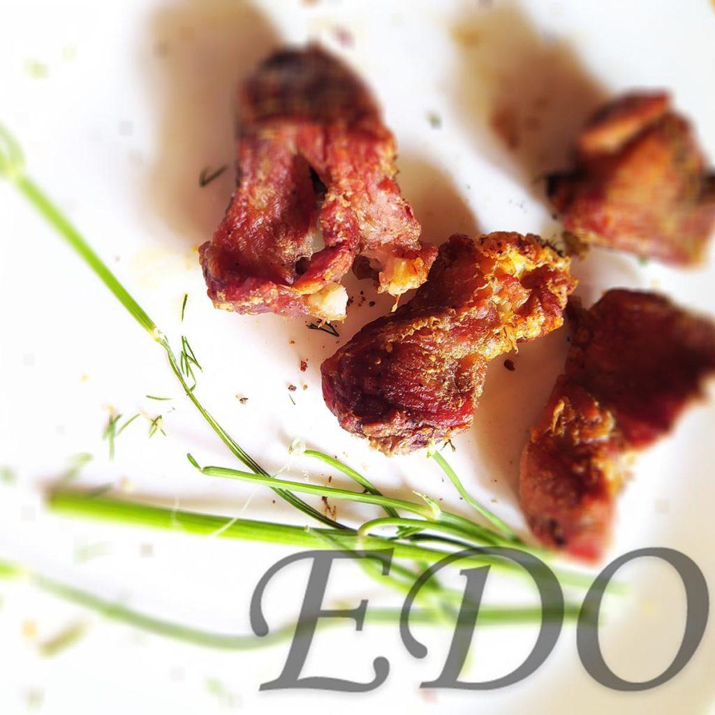 Шашлык из свинины для окрошки