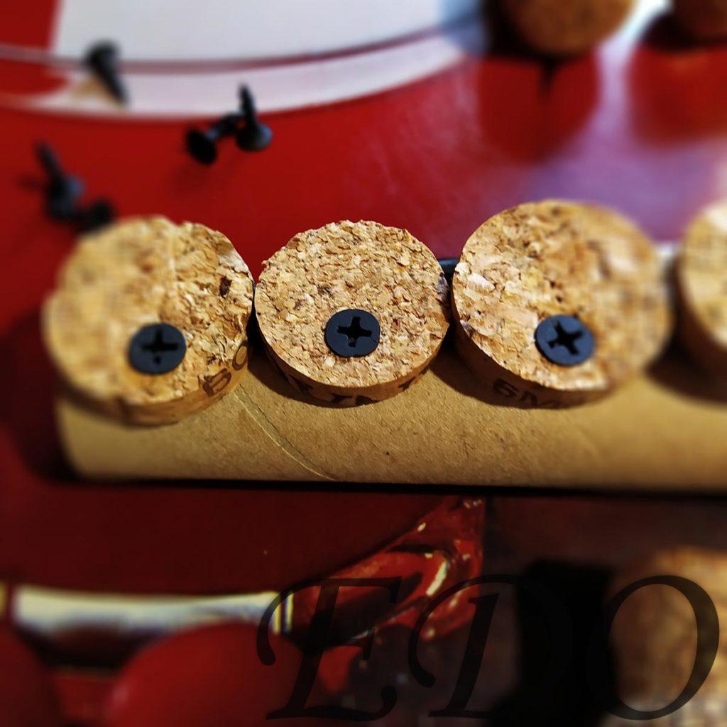 Подставка под специи украшение кружочками