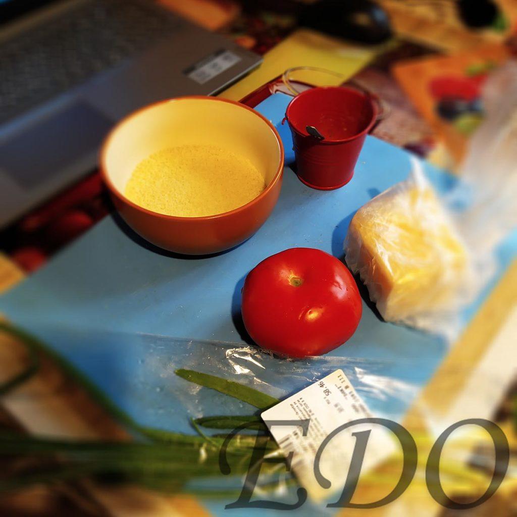 Ингредиенты салата Желтый синьор