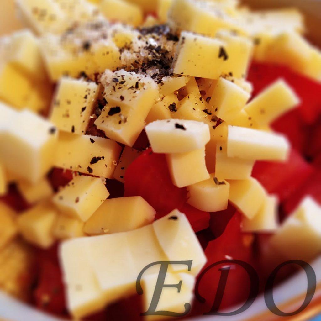 Специи в салате Желтый синьор