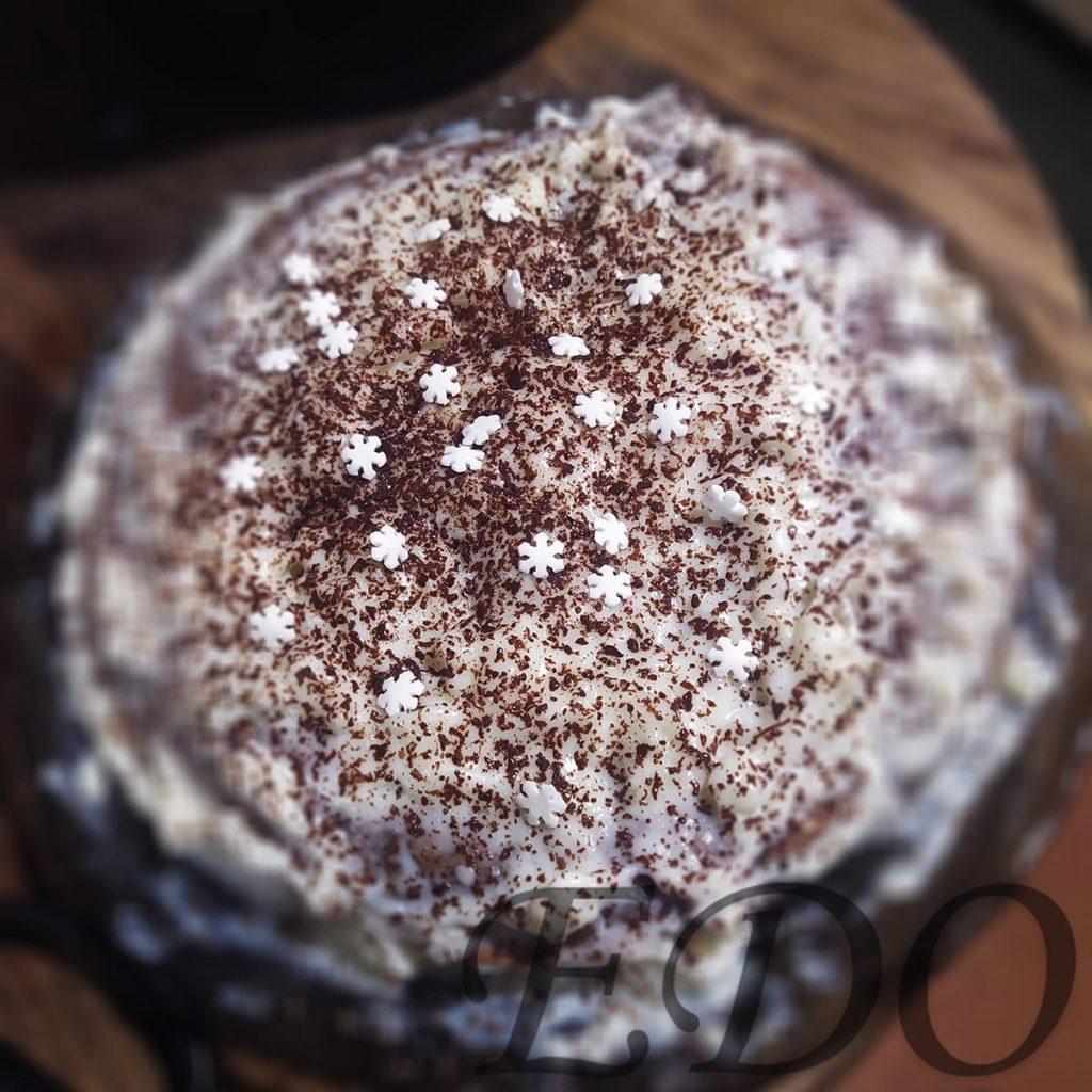Готовый тортик блинный с кремом