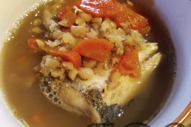 Уха «Горохово-морковная кета»