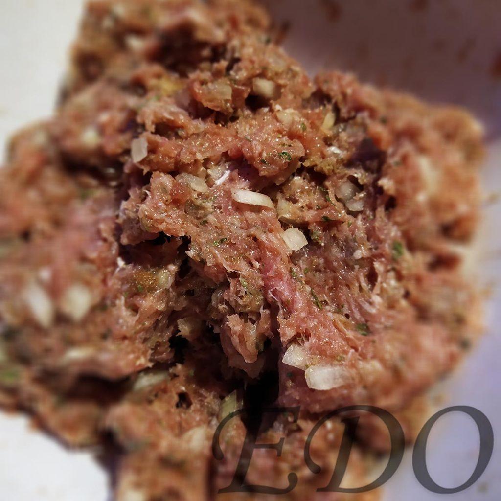 Готовая смесь котлето-фрикадельковая из фарша индейки