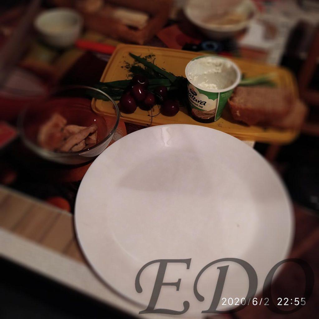 Бутерброд «Черешнево-куриный» - компоненты