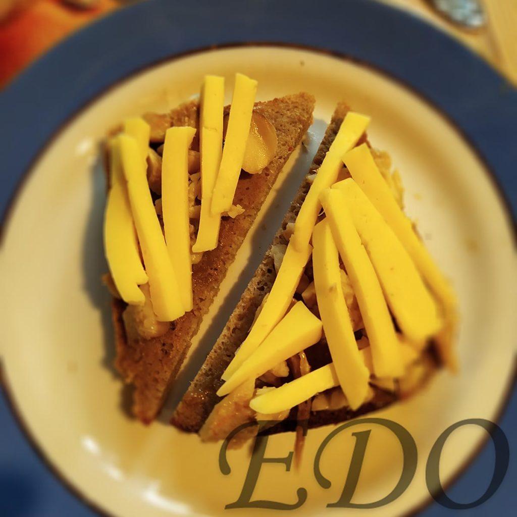 Бутерброд «Сырно-горчичневый» - сыр