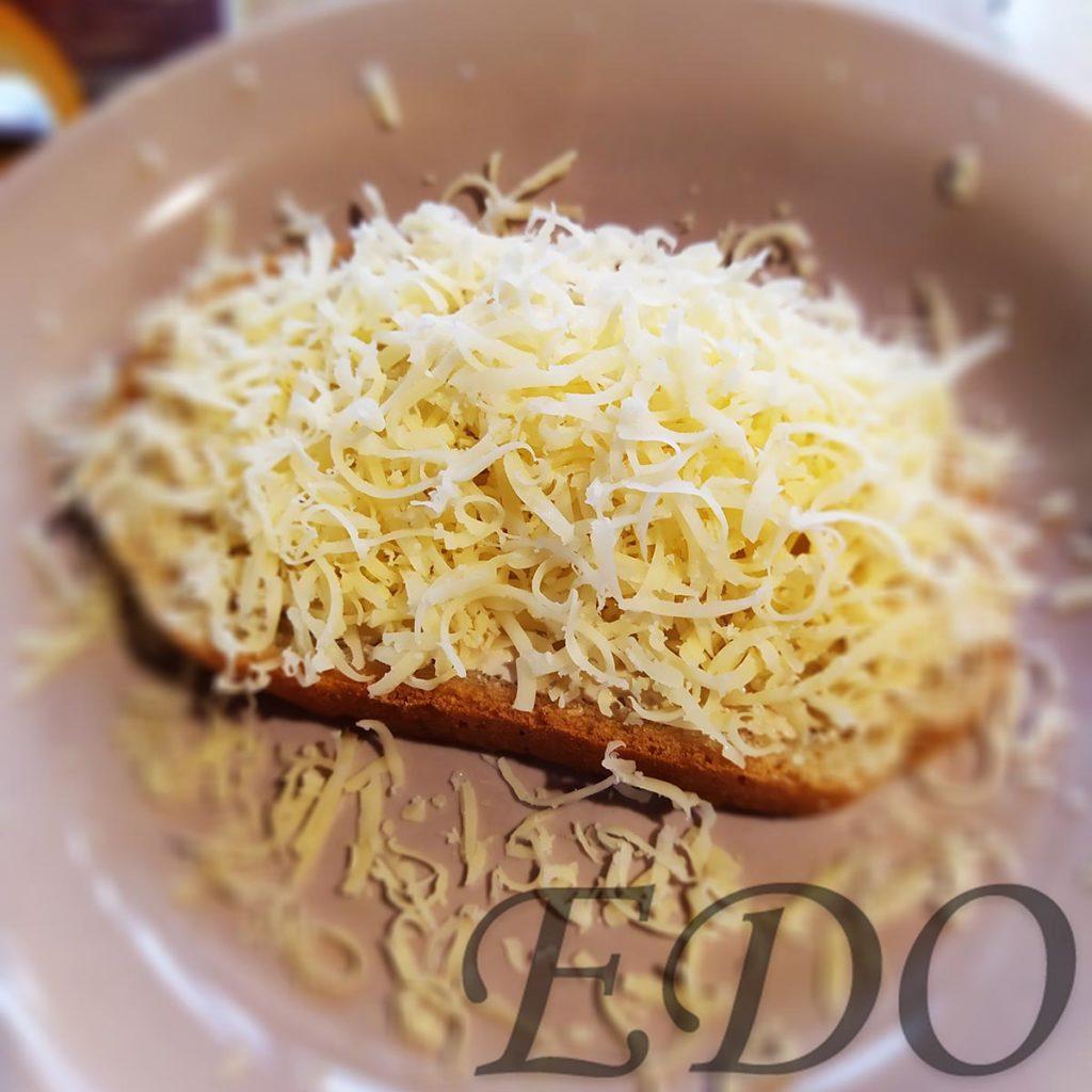 Бутерброд «Сырно-чабрецовый» - сыр