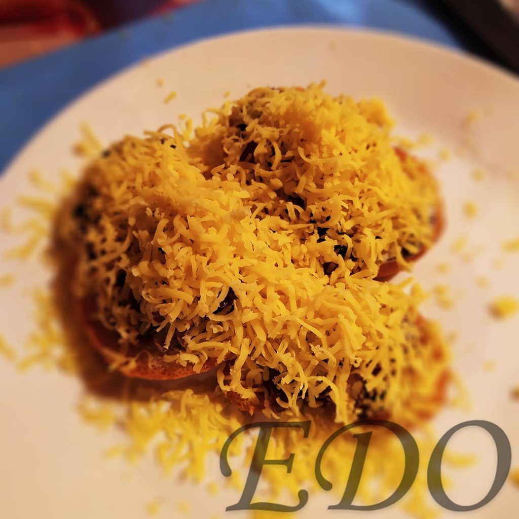 Бутерброд «Грибной» - сыр