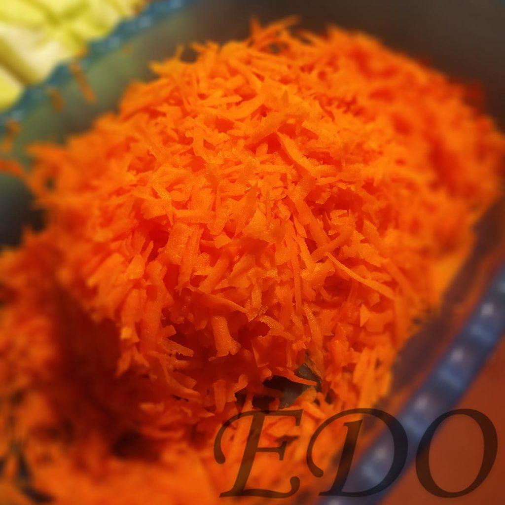 Квашеная капуста «Самая вкуснота» - морковка