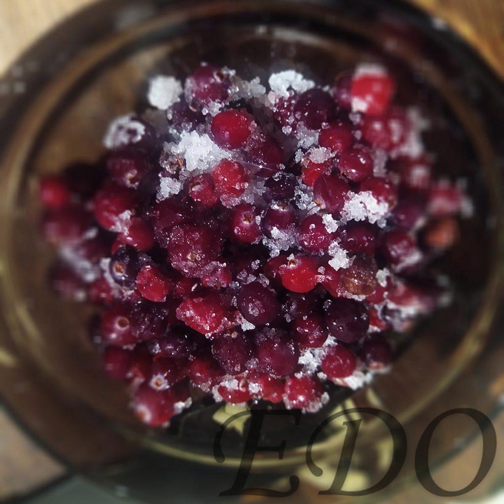 Квашеная капуста «Самая вкуснота» - клюква