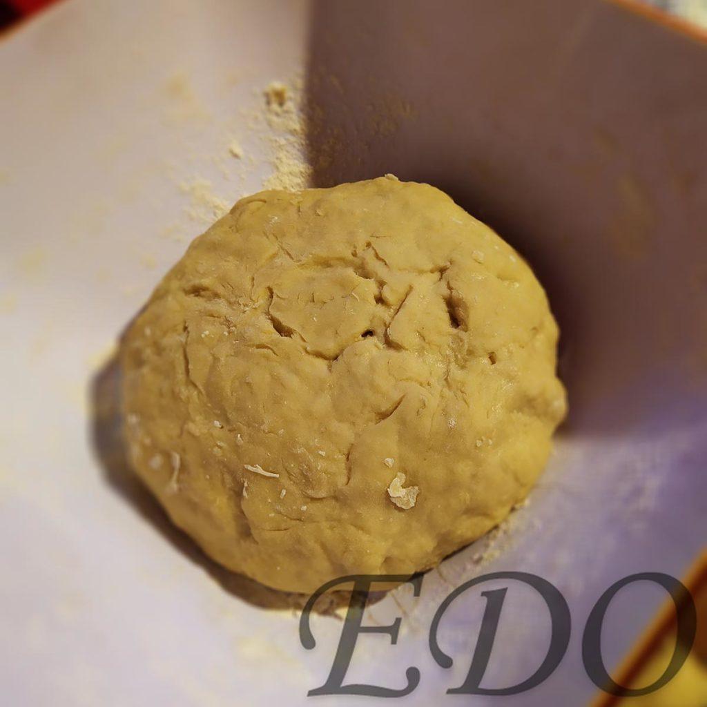Пирог бруснично-маковый «Плетёнка» готовое дрожжевое тесто