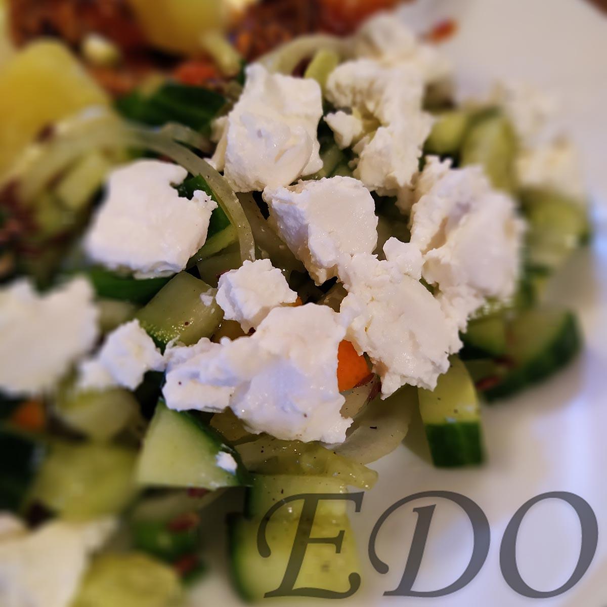 «Прелесть» зеленый салат