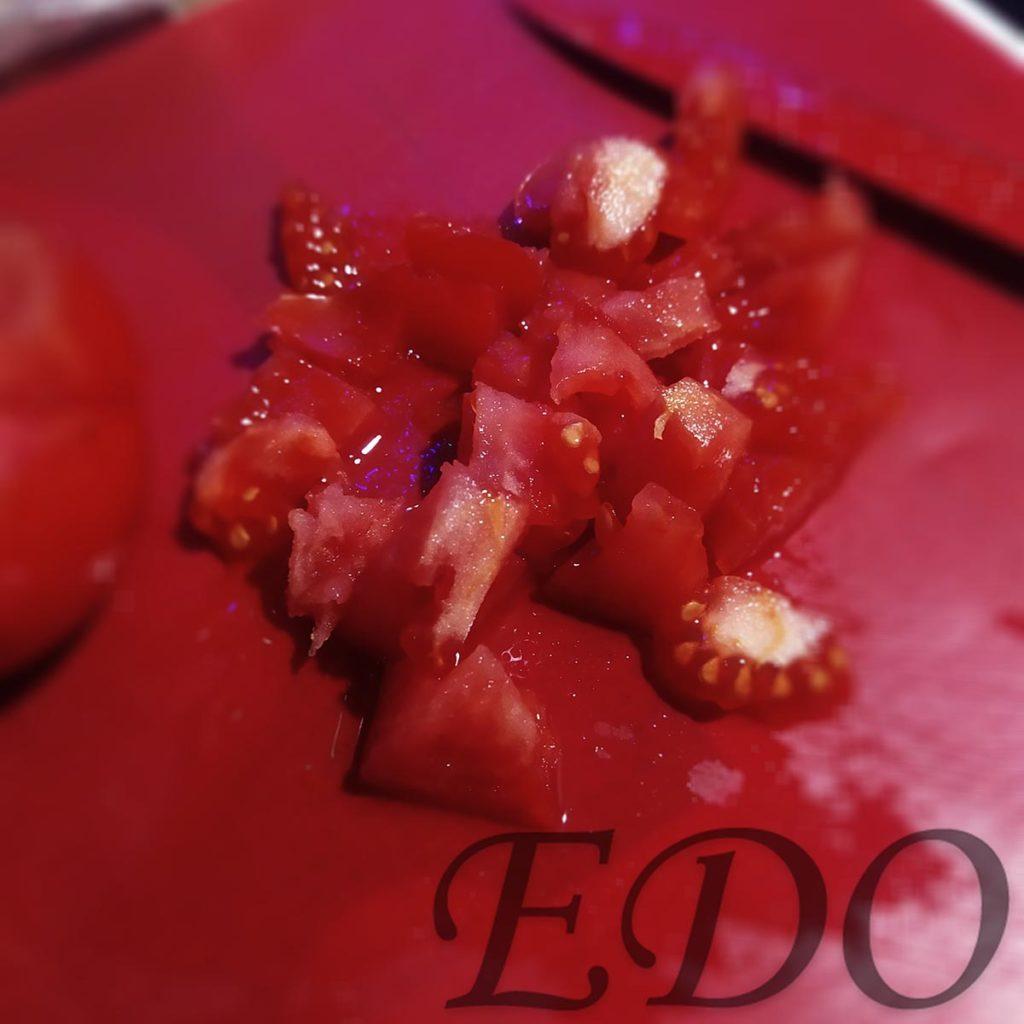 Салат «Кари бальзамик» помидорки