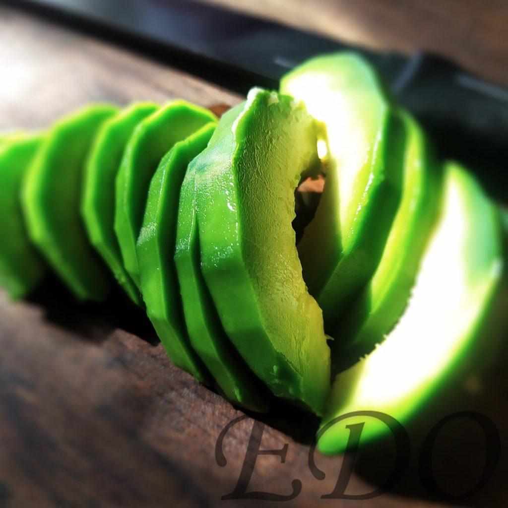бутерброд «Трио фруктово-овощное» авокадо