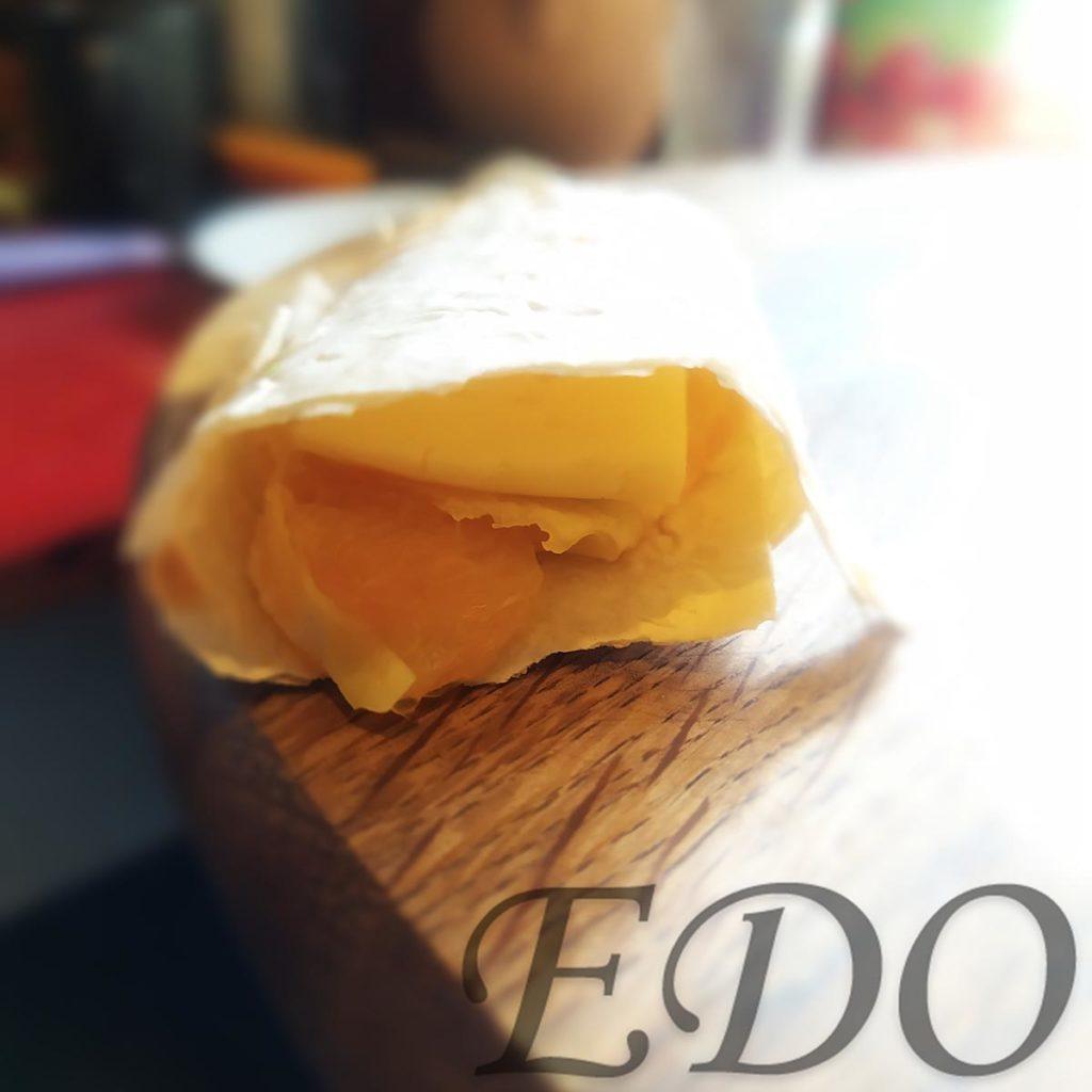 бутерброд «Трио фруктово-овощное» апельсиновый слой