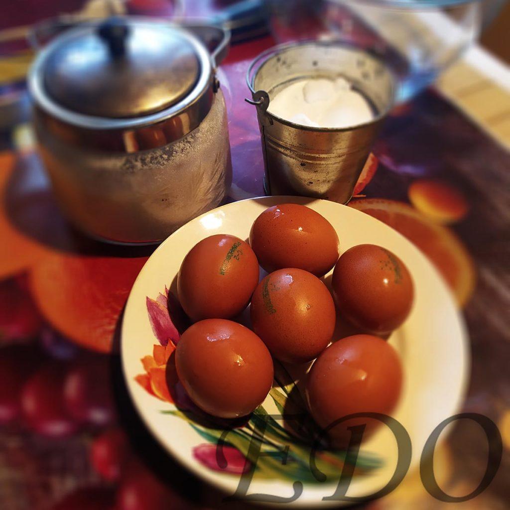 Десерт «Желто-белая сладость» состав