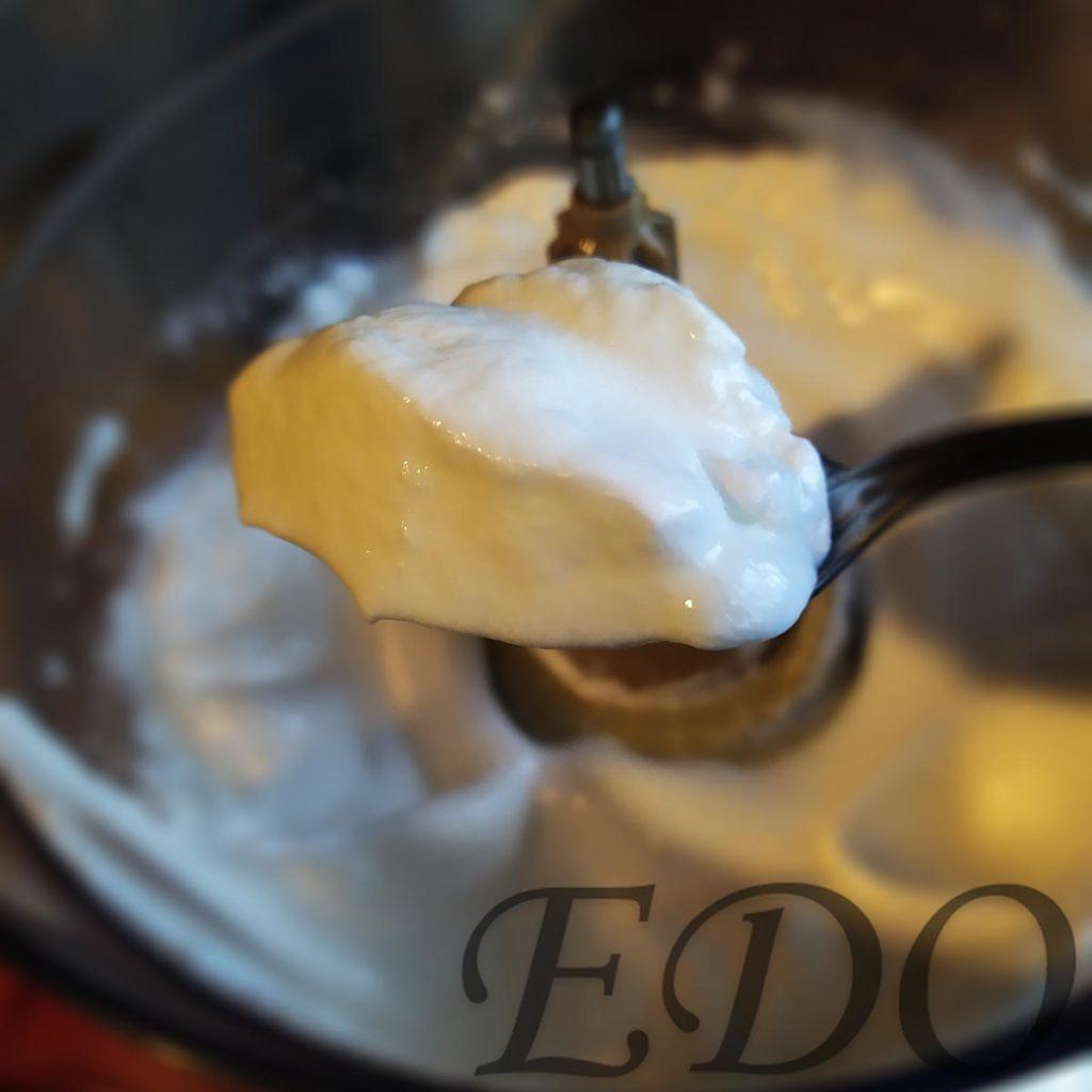 Десерт «Желто-белая сладость» белки как желе