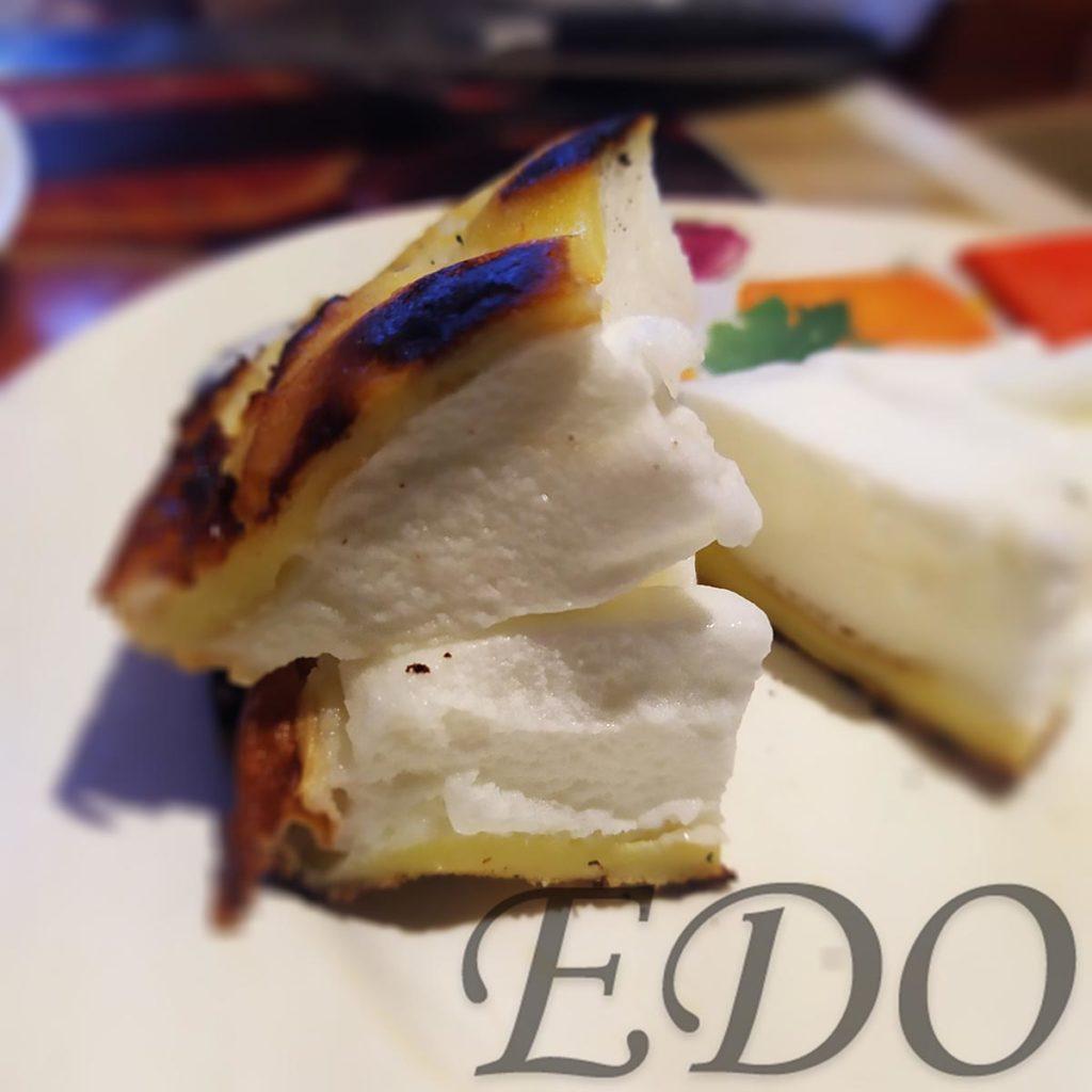 Десерт «Желто-белая сладость» как тортик