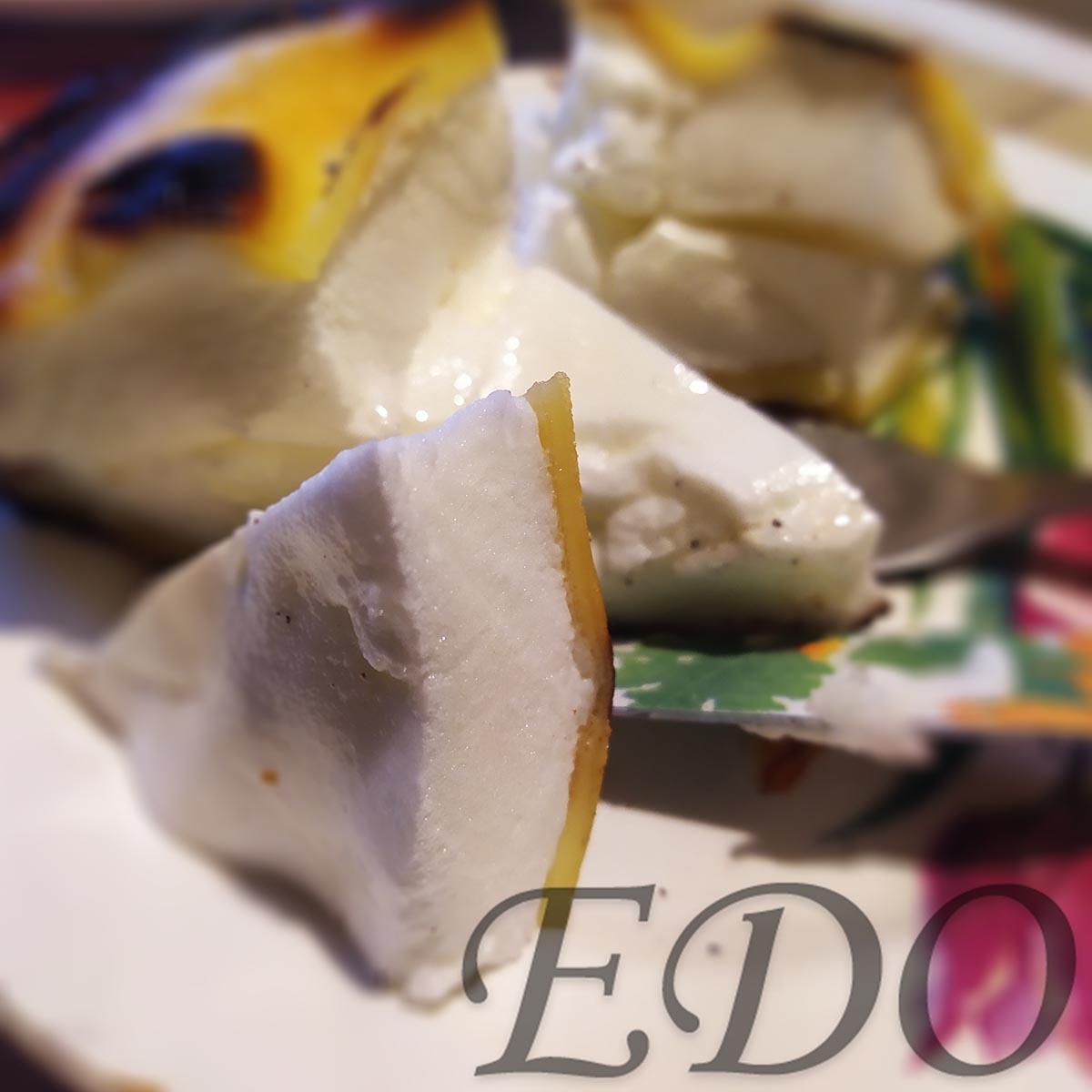 Десерт «Желто-белая сладость» удивительно нежно