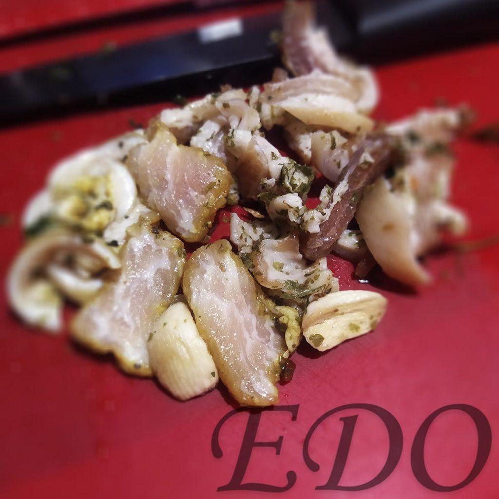 «Авокадо картошка» сало нарезка