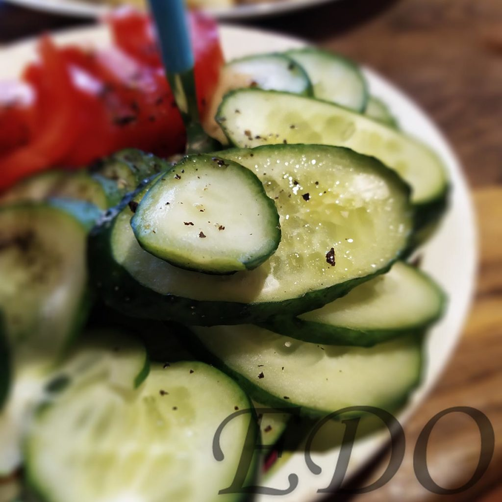 «Канепешки на урашки» овощи