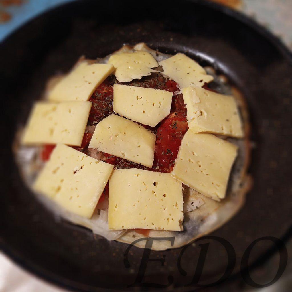 «Пиццамир» сырный слой