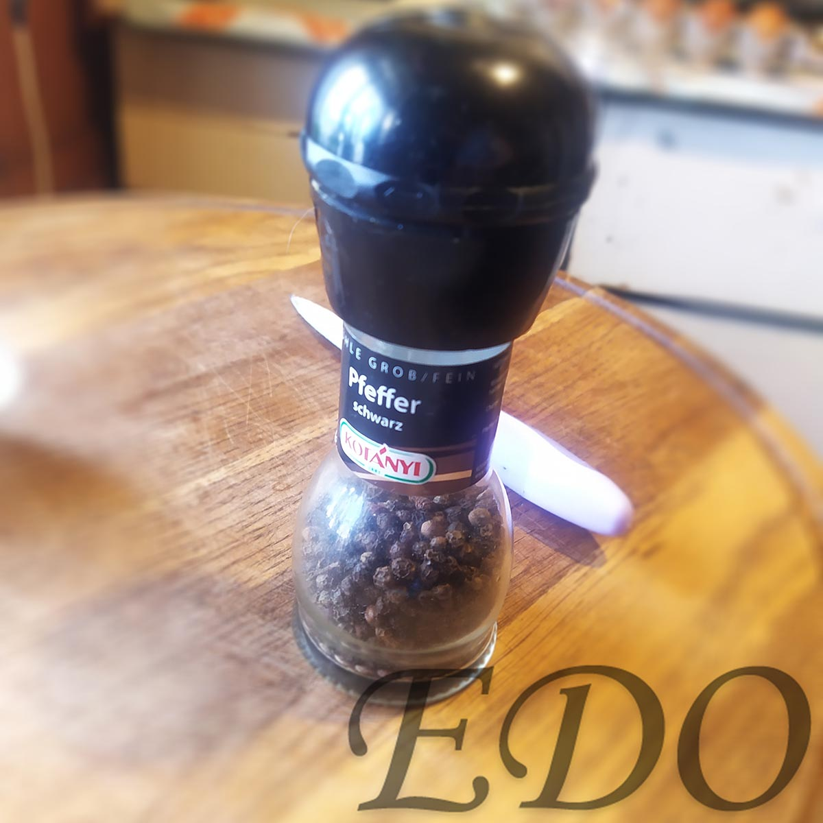 «Простой мельник» готовый черный перец