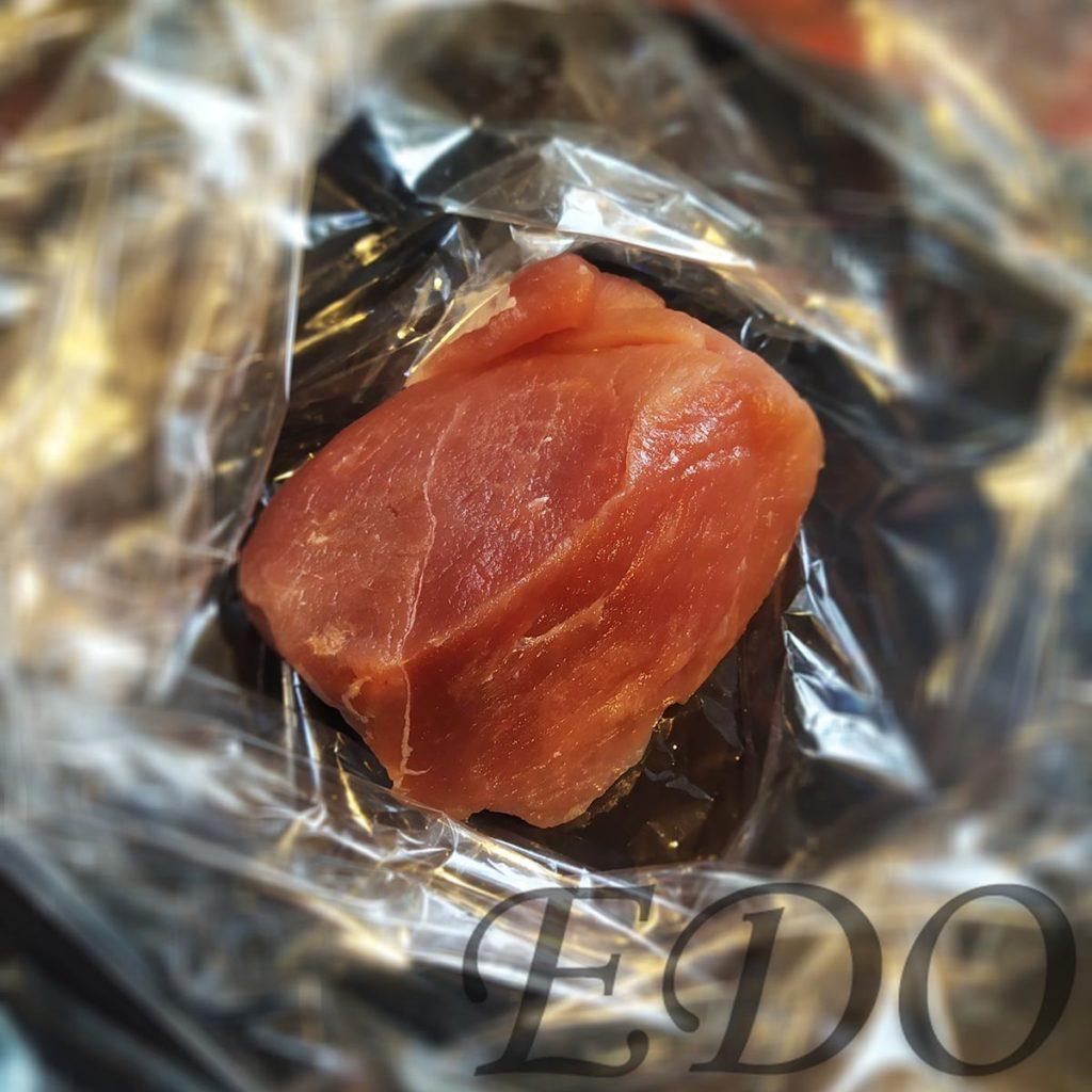 «Пакетная запечёнка» кусок свинины в рукаве
