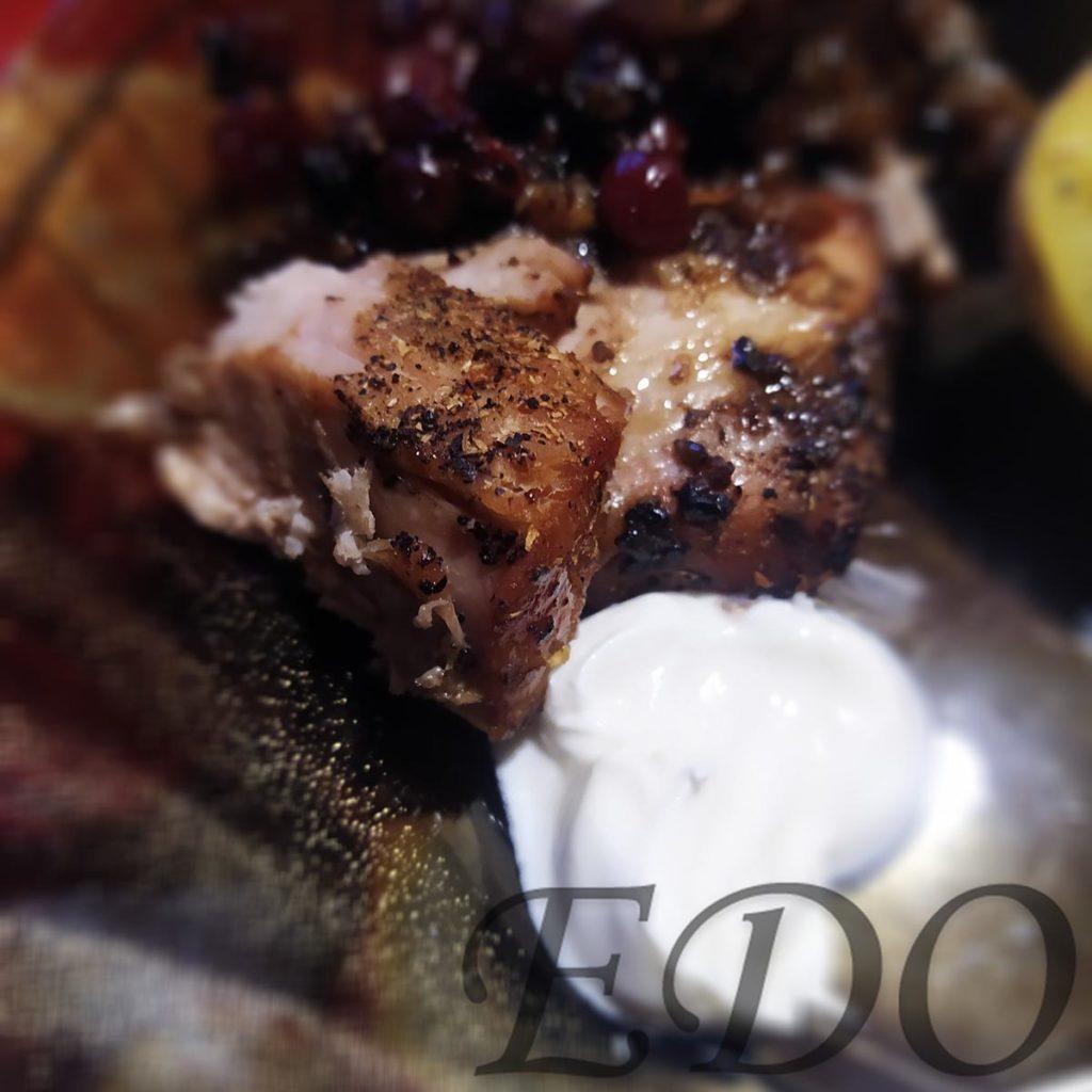 кусок свинины «Пакетная запечёнка» готовая свинина со сметаной