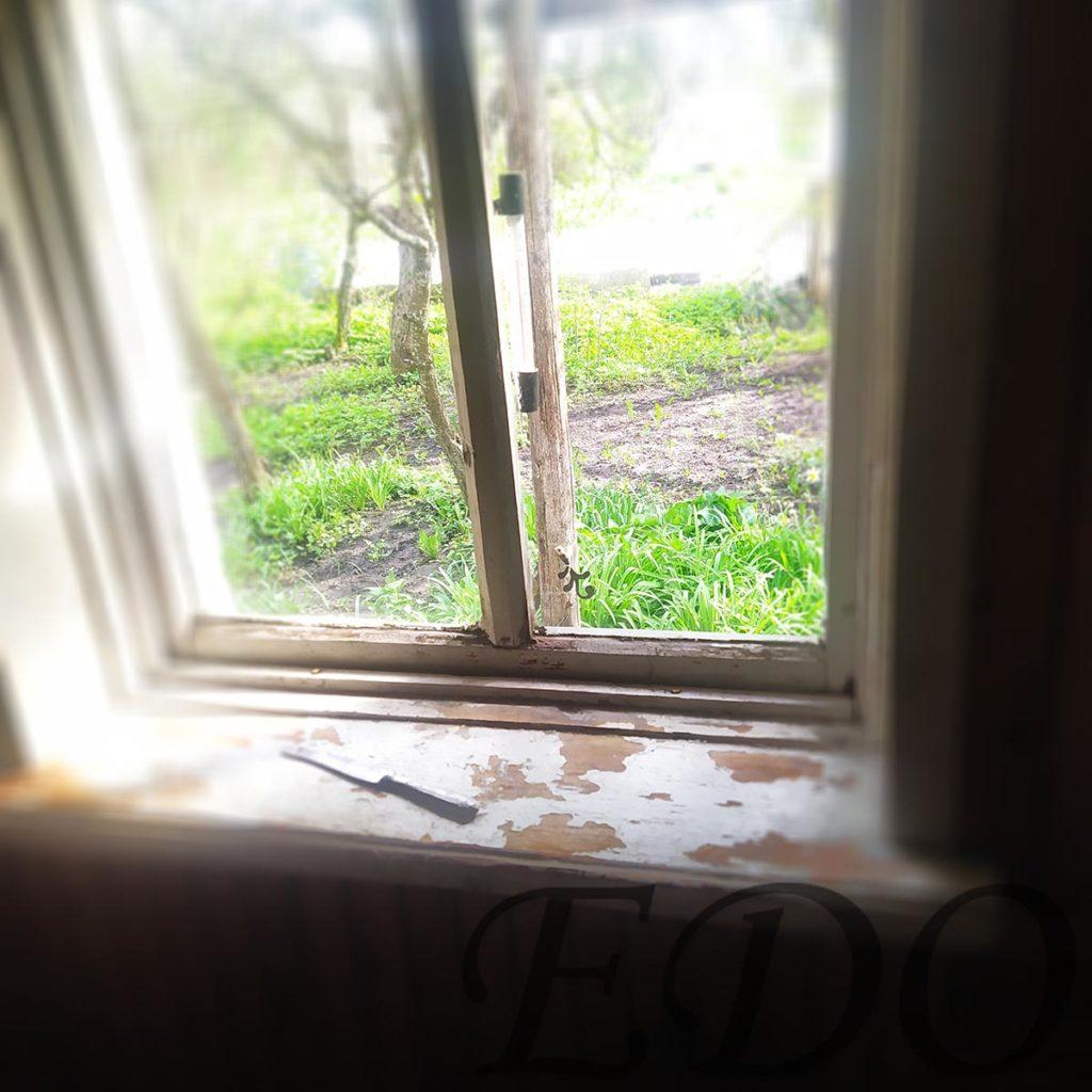 «Дачный покрас» окно ободранное