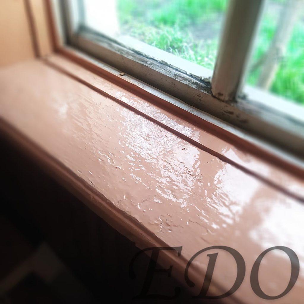 «Дачный покрас» первое окно