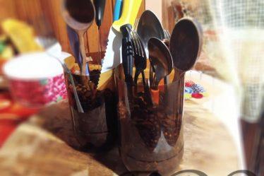 «Ножестоялка кофейная» практичная