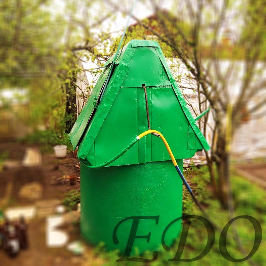 «Зеленый домик» колодец дачный