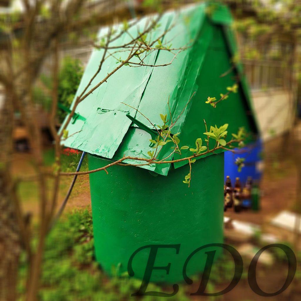 «Зеленый домик» колодец дачный красота
