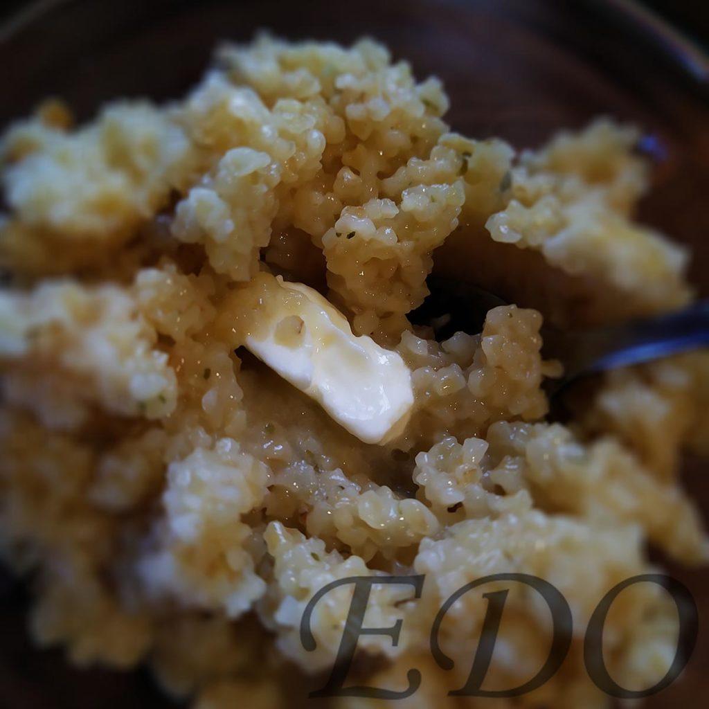 пшеничная каша с маслом